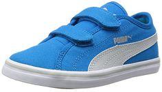 Puma Elsu v2 CV V Inf, Unisex-Kinder Sneakers, Blau (blue Jewel-gray violet 02), 35 EU (2.5 Kinder UK) - http://on-line-kaufen.de/puma/35-eu-puma-unisex-kinder-elsu-v2-cv-v-inf-sneakers