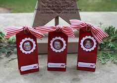 stampin up anleitung weihnachten | Stampin UP! Adventskalender - 1.Dezember Türchen Nr. 1