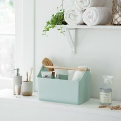 """Yamazaki Home Europe on Instagram: """"FAVORI STORAGE BOX Whether in the children's room or bathroom: It fits anywhere and fits everything. Ob im Kinderzimmer oder im Bad:…"""" Storage Containers, Storage Baskets, Kitchen Storage, Entryway Organization, Organization Ideas, Starter Home, Old Boxes, Small Storage, Organizing Your Home"""