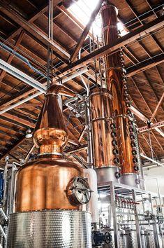 Vodka and gin made in Sebastopol, California at Spirit Works Distillery.