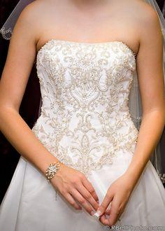 Wedding Photography Dress Intricate Bead Pattern Bridal Closet Dream Dresses
