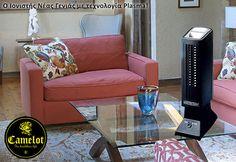Ιονιστής Ionultra Clean της Camelot. Ο Ιονιστής Νέας Γενιάς με τεχνολογία Plasma. Ο Ιονιστής PLASMA IONULTRA CLEAN® AIR PURIFIER σας δίνει καθαρό και υγιεινό αέρα αθόρυβα και αποτελεσματικά! Accent Chairs, Furniture, Home Decor, Upholstered Chairs, Decoration Home, Room Decor, Home Furnishings, Arredamento, Interior Decorating