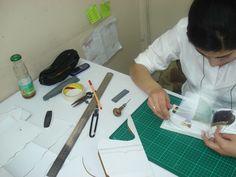 Proceso de modelaje, determinación de dimensiones
