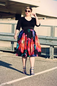 Plus Size Fashion for Women - Lu zieht an.