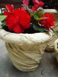 Žena prišla s výborným nápadom, ako vylepšiť staré kvetináče za pár centov: Všetci susedia sa jej teraz pýtajú, kde ich kúpila!