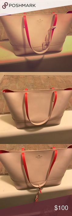 Kate spade purse Tote purse- used for one season kate spade Bags Totes