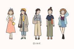 Kawaii Drawings, Cartoon Drawings, Cute Drawings, Cartoon Art Styles, Cute Art Styles, Cute Illustration, Character Illustration, Character Art, Character Design