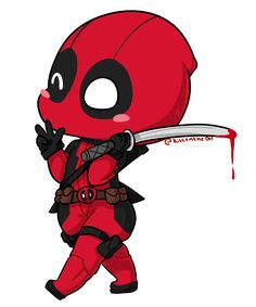 #Deadpool #Fan #Art. (Deadpool Chibi) By: XNekorux. (THE * 5 * STÅR * ÅWARD * OF: * AW YEAH, IT'S MAJOR ÅWESOMENESS!!!™)[THANK U 4 PINNING!!!<·><]<©>ÅÅÅ+(OB4E)     https://s-media-cache-ak0.pinimg.com/474x/bc/c6/a0/bcc6a01150aa4b7c6b1f41fa22f52cbf.jpg