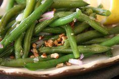 Green Bean Summer Salad | Espresso and Cream