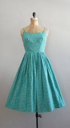 cotton 1950s sundress