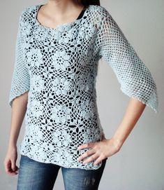Buzo Calado - Crochet - Tejidos de Punto - 397581
