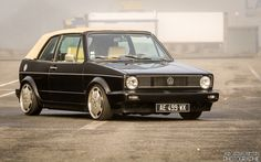• Volkswagen Golf Mk1 Cabriolet by Jean-Jacques...