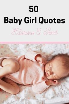 Can't find the words to describe your perfect baby girl? Here are 50 Baby Girl Quotes to help you out! #babygirl #daughter #babyquotes Baby Girl Quotes, Mom Quotes, Qoutes, Cute Baby Girl, Mom And Baby, Funny Babies, Cute Babies, Words To Describe Yourself, Quotes About Motherhood