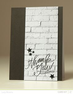 Graffiti+Thanks++*Card+Kit+Only*+by+LucyAbrams+at+@Studio_Calico