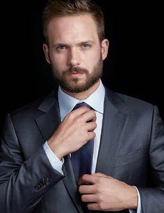 Patrick J Adams, Hot Guys, Hot Men, Mens Fashion, Fashion Suits, Mens Suits, Gentleman, Suit Jacket, Handsome