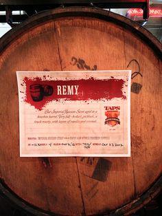 Russian Imperial Stout beer aged in Pappy Van Winkle barrels! #craftbeer