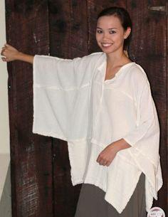 Oh My Gauze Cotton Joyce Lagenlook Tunic Poncho Top OSFM M L XL 1x U chz Color | eBay