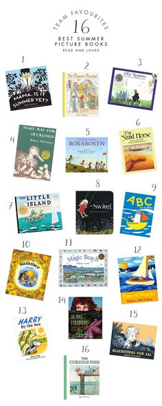 Sixteen seasonal summer picture books to read with your children Babyccino Kids: Daily tips, Children's products, Craft ideas, Recipes & More