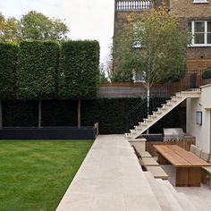 Those trees!! Contemporary - contemporary - Landscape - London - Hill Mitchell Berry Architects