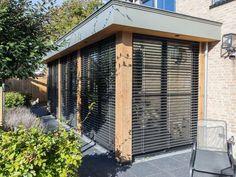 Pergola, Roof Extension, Enclosed Patio, Indoor Outdoor, Outdoor Decor, Grand Designs, Flat Roof, Bungalow, Garden Design