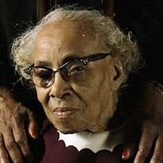 Septima Poinsette Clark..Educator, Civil Rights Activist..born in 1898, she was instrumental in founding nearly 900 citizenship schools, which ultimately helped African Americans register to vote...