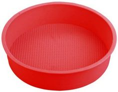 9 Round Silicone Cake Mold Pan 9 round x 2 14 deep  colors may vary *** Click image for more details.