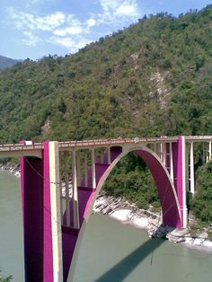 Coronation Bridge, on the way to Sikkim , India