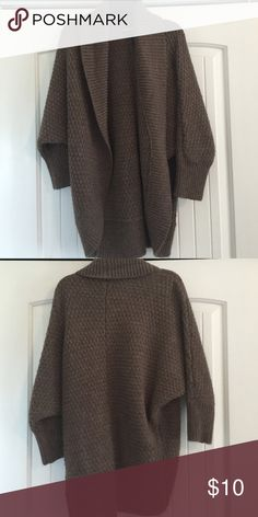 Express sweater Knit brown sweater Express Sweaters Cardigans