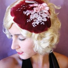 This lovely little headpiece will keep you feeling fancy!