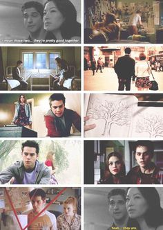 I love that this episode was all about Lydia and Stiles.