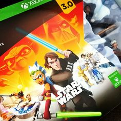 It begins. #disneyinfinity #Disney #starwars #clonewars #ahsoka #Anakin #prequels #sequels #xbox #xboxone #gaming #gaymer