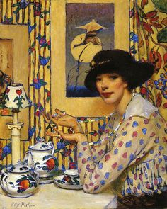 Raymond Perry Rogers Neilson - Woman with Beads