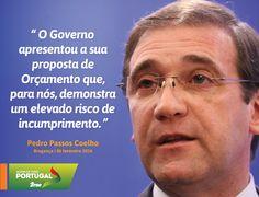 Pedro Passos Coelho, Presidente do PSD, em declarações à imprensa sobre o Orçamento do Estado para 2016. #PSD #acimadetudoportugal