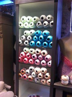 Wol en katoen van Rico Design bij Atelier La Vivere, Dorpsstraat Zoetermeer Ook hebben we weer extra kleuren Creative Paper binnengekregen ( van Rico Design ) #haken #breien #handwerken #workshop #haakcafe https://www.facebook.com/Atelier-La-Vivere-585456594966390/?fref=ts