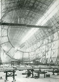 Airship, Hindenburg, Construction