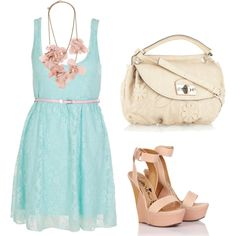 Blue and pink,