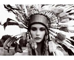 Tribal Chic Harper's Bazaar Photos 1 - Eccentric Tribal Fashion pictures, photos, images
