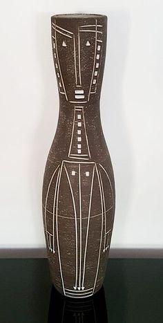 black and white - vase - ceramic - Jaap Ravelli