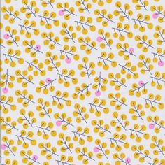 Berries Gold from the Sweet Autumn Day collection by murdockdesign Surface Pattern, Pattern Art, Pattern Design, Pretty Designs, Pretty Patterns, Cloud 9, Autumn Day, Retro Art, Fabric Paper