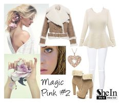 263-> Magic Pink #2 by dimibra on Polyvore featuring Burberry and New Look