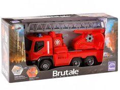 Caminhão Brutale Bombeiro - Roma Jensen com as melhores condições você encontra no Magazine Edisiosilvameira. Confira!
