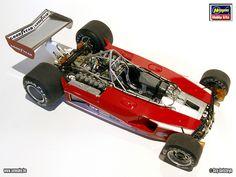 Ferrari 312T - Hasegawa 1:20 by Sennake,.