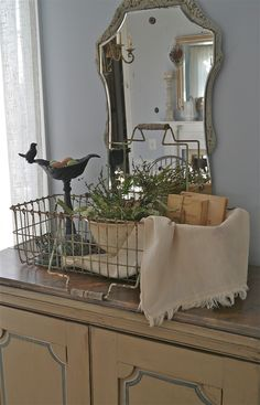 Chateau Chic - Basket full of spring