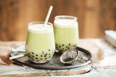 Cro'K'mou, blog culinaire: Matcha Bubble tea