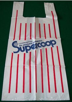 Bolsa plástica de Supercoop. Mediados de los años 80.