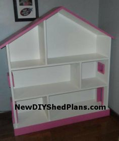 How To Build A Kids Wooden Dolls House | Free Dolls House Plans | DIY ...