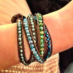 Wrap bracelet.  I like the different colors