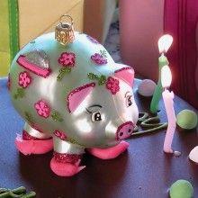 Piggy Bank Ornament