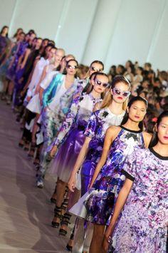 : Model. Fashion. Catwalk. Runway :