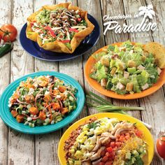 Check out our new limited time surfside slimdown salad selections before they're gone! http://www.cheeseburgerinparadise.com/menu/feature/